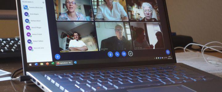 Videokonferenz des Vorstands