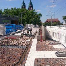 Schrittweise Sanierung der Stadtbahnbrücke